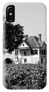 Old Farmhouse Surrounded By Cotton IPhone Case