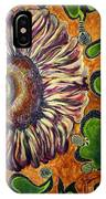 Old Fashion Flower 2 IPhone Case