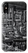 Old Fashioned Doctor's Office Bw IPhone Case