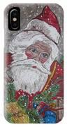 Old Fashioned Santa IPhone Case