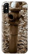 Old Fire Hydrant  IPhone Case