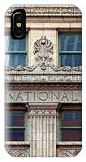 Old First National Bank - Building - Omaha IPhone Case