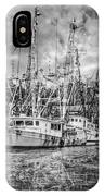 Old Fishing Boats IPhone Case