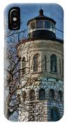 Old Fort Niagara Lighthouse 4484 IPhone Case