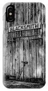 Old Fort Wayne Blacksmith Shop IPhone Case