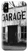 Old Garage IPhone Case