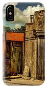 Old Gas Station IPhone Case