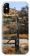 Old Gate At Oak Flats IPhone Case