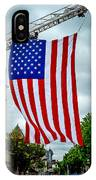Old Glory Over Doylestown IPhone Case