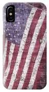 Old Glory   Peeling Paint IPhone Case