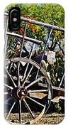 Old Hay Wagon IPhone Case