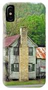 Old House In Penrose Nc IPhone Case