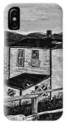 Old House - Memories - Shutters And Boards IPhone Case