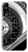 Old Jag In Black And White IPhone Case