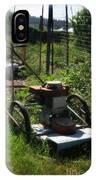 Vintage Lawn Mower IPhone Case