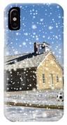 Old Kansas Schoolhouse IPhone Case
