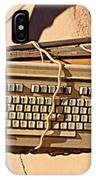 Old Key Boards IPhone Case