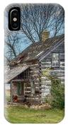 Old Log Cabin IPhone Case