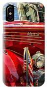 Old Mack Firetruck IPhone Case