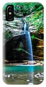Old Mans Cave Lower Falls IPhone Case