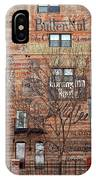 Old Market - Omaha - Metz Building - #1 IPhone Case