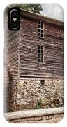 Old Mill At Forbidden Caverns IPhone Case