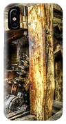 Old Mill Cogs IPhone Case