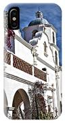 Old Mission San Luis Rey - California IPhone Case