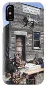 Old Molson Ghost Town Assay Office IPhone Case