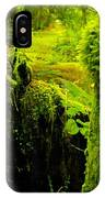 Old Mossy Stump IPhone Case