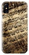 Old Music IPhone Case