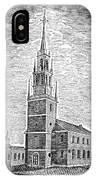 Old North Church, 1775 IPhone Case
