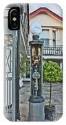 Old Petrol Pumps Stockbridge IPhone Case