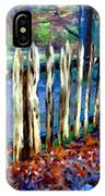 Old Picket Fence Greenbrier School IPhone Case