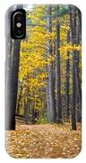 Old Pine Trees IPhone Case
