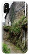 Old Quarter Of La Roche Bernard IPhone Case