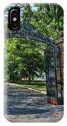 Old Queens Entrance Gate IPhone Case
