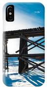 Old Rail Tressel IPhone X Case