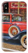 Old Red Pickup Truck IPhone Case