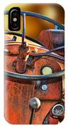 Old Red Tractor Ford 9 N IPhone Case