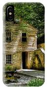 Old Rice Grist Mill IPhone Case