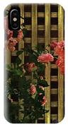 Old Roses, Old Wood IPhone Case
