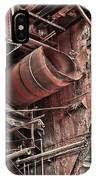 Old Rusty Pipes IPhone Case