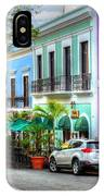 Old San Juan Street IPhone Case