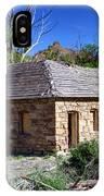 Old Sandstone Brick Farm House Nine Mile Canyon - Utah IPhone Case