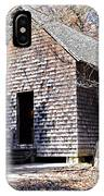 Old Schoolhouse Building IPhone Case
