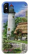 Old Sea Cottage IPhone Case