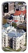 Old Sedgwick County Courthouse In Wichita IPhone Case