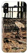 Old Sharecropper IPhone Case