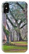 Old Sheldon Church Angled With Tombs IPhone Case